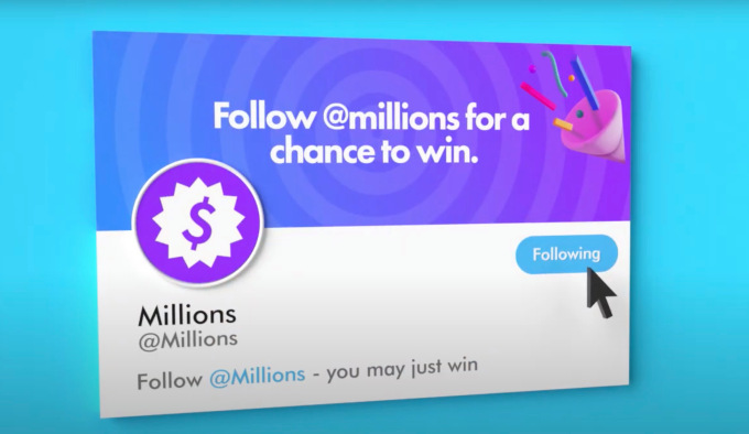 anonymous fintech startup millions raises 3 million gives away cash on twitter hyperedge embed image