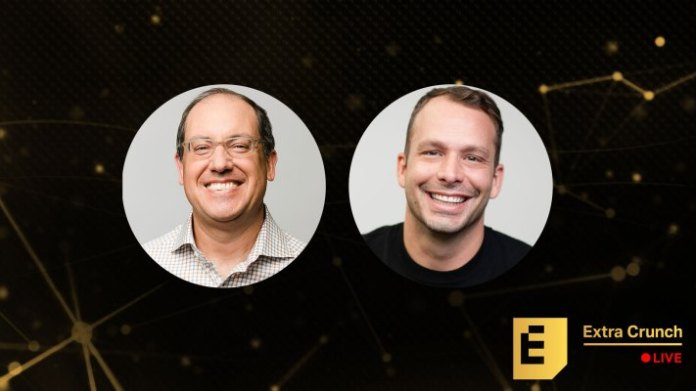 at extra crunch live felicis aydin senkut and guidelines kevin busque will look back on the series b deal that brought them together hyperedge embed image