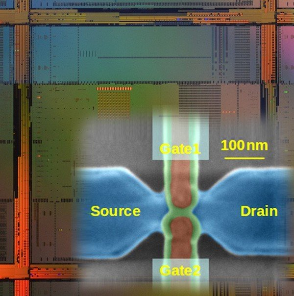 Quantum Chips from project MOS-QUITO