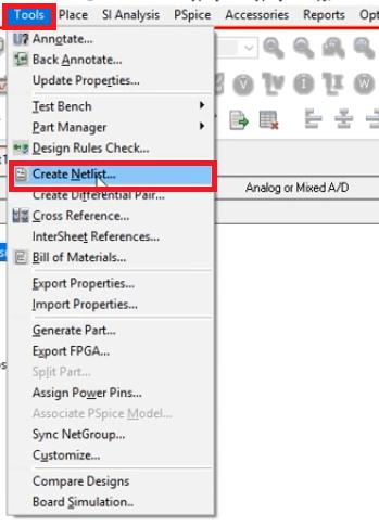 How to generate netlist in Allegro
