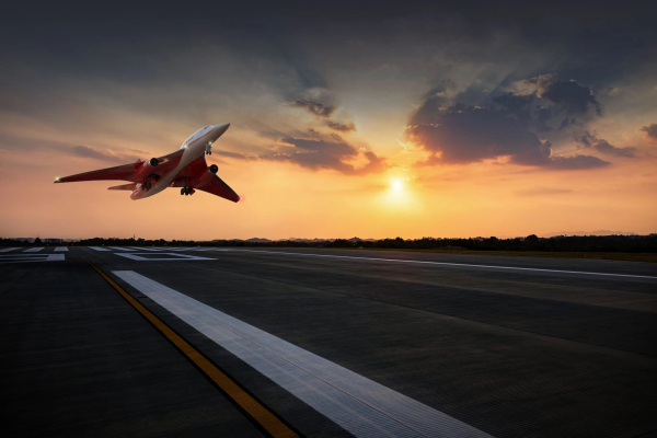 supersonic jet company aerion partners with nasa on high speed point to point travel hyperedge embed image