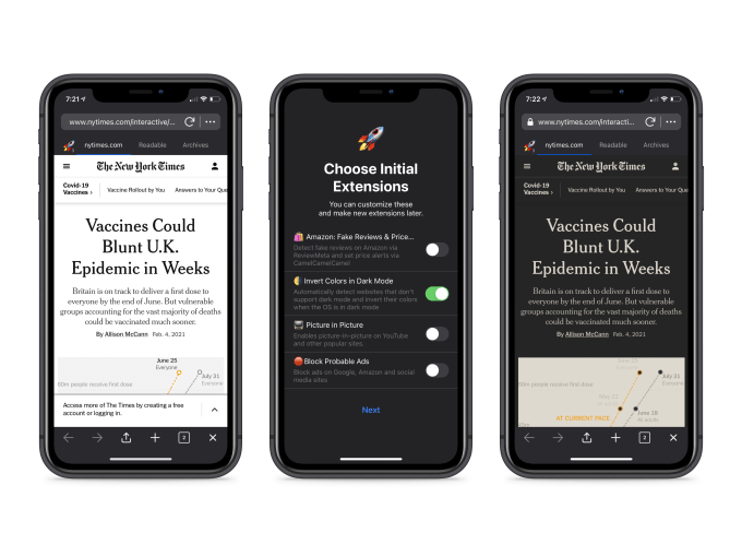 this week in apps bumbles ipo googles missing privacy labels a developer crusades against scams hyperedge embed image