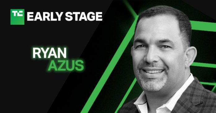 were talking startup sales with zoom cro ryan azus at techcrunch early stage hyperedge embed image
