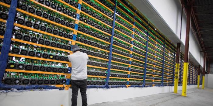 Crypto mining farm