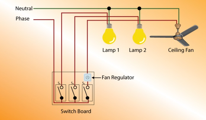 Example of wiring diagram