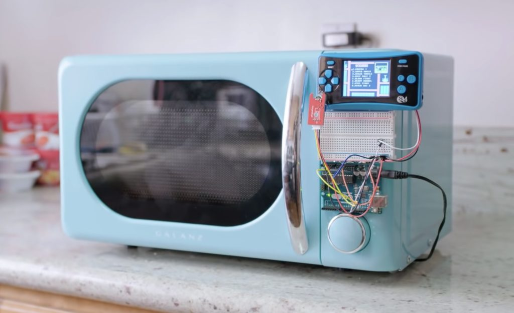 allen pans arduino controlled microwave only works while gaming hyperedge embed