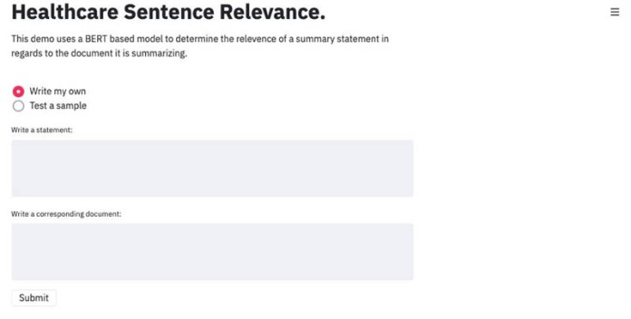 build a medical sentence matching application using bert and amazon sagemaker 1 hyperedge embed image