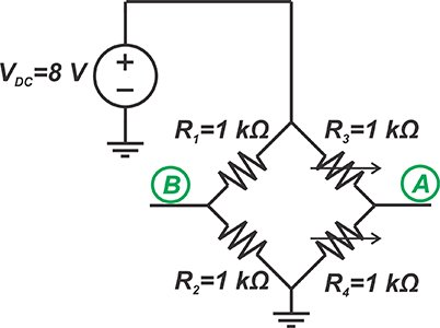 examining the unbalanced loading effect of a difference amplifier on a bridge circuit 2 hyperedge embed image