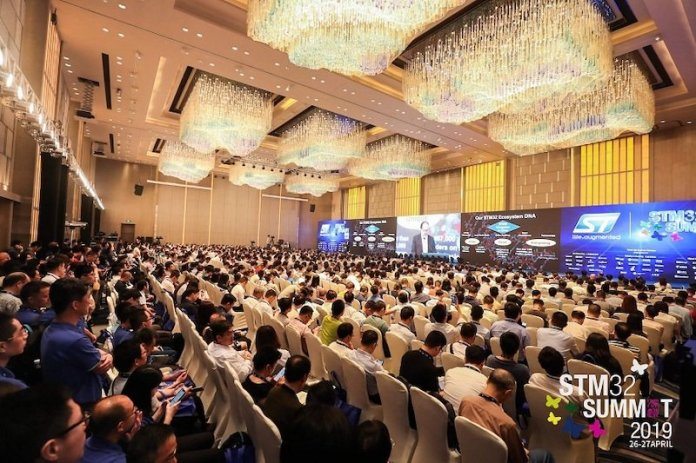 for the love of an mcu stmicroelectronics wraps up stm32 summit 2021 in china 1 hyperedge embed image