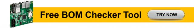 BOM Checker by Sierra Circuits