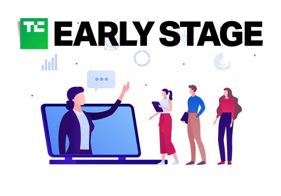 applications for the tc early stage pitch off july are open hyperedge embed image