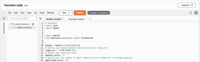 automatically scale amazon kendra query capacity units with amazon eventbridge and aws lambda 3 hyperedge embed image