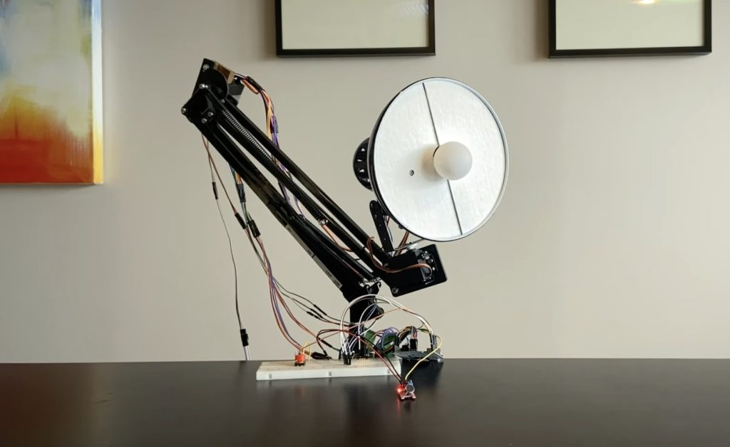 this youtuber created an arduino powered luxo jr hyperedge embed image