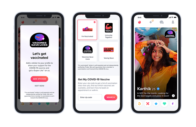 white house teams up with dating apps to give vaccinated users free perks hyperedge embed image
