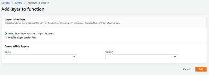 build reusable serverless inference functions for your amazon sagemaker models using aws lambda layers and containers 1 hyperedge embed image