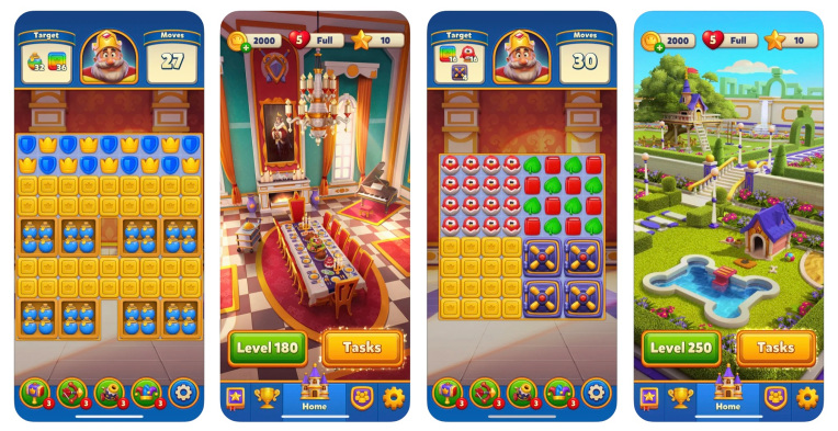 dream games raises 155m at a 1b valuation as its royal match puzzle game hits a royal flush hyperedge embed image
