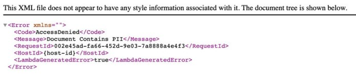 protect pii using amazon s3 object lambda to process and modify data during retrieval 5 hyperedge embed image