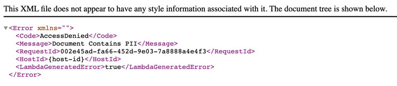 protect pii using amazon s3 object lambda to process and modify data during retrieval 5 hyperedge embed