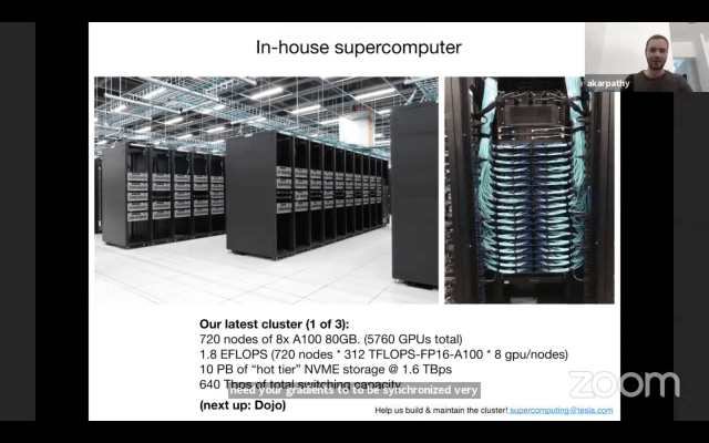 tesla backs vision only approach to autonomy using powerful supercomputer hyperedge embed
