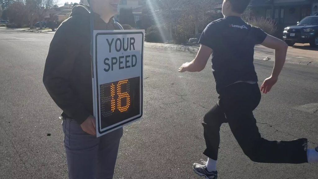 diy radar speed sign looks and works like the real thing hyperedge embed