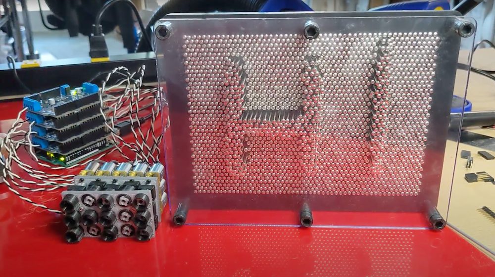 the pinthing is a motorized pin display hyperedge embed