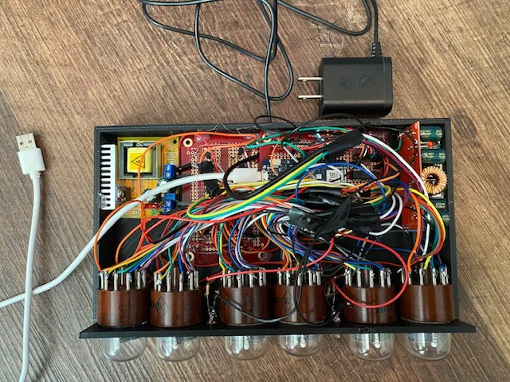 this nixie tube clock keeps the time and the cost down 2 hyperedge embed image
