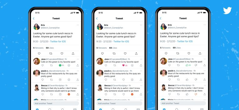twitter tests reddit style upvote and downvote buttons hyperedge embed image