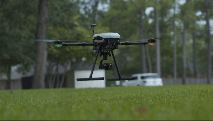 paladin publicly launches knighthawk a first response drone for cities hyperedge embed