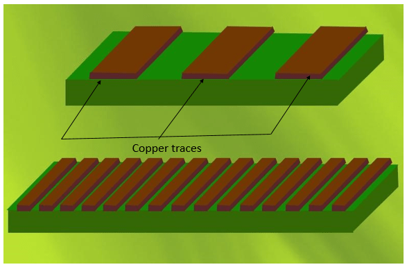 Trace width and space impacts the overall cost of a flex board