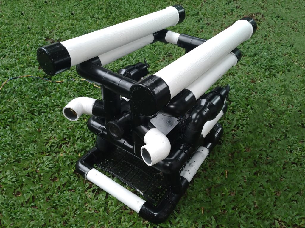 an arduino powered underwater rov made out of pvc pipe hyperedge embed