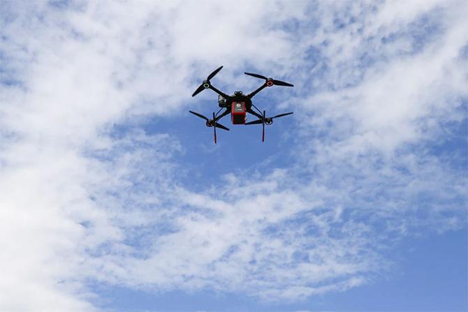 greece drone drug delivery medicines