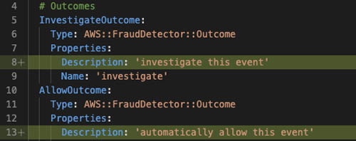 manage your amazon fraud detector resources in an automated and secure manner using aws cloudformation 11 hyperedge embed