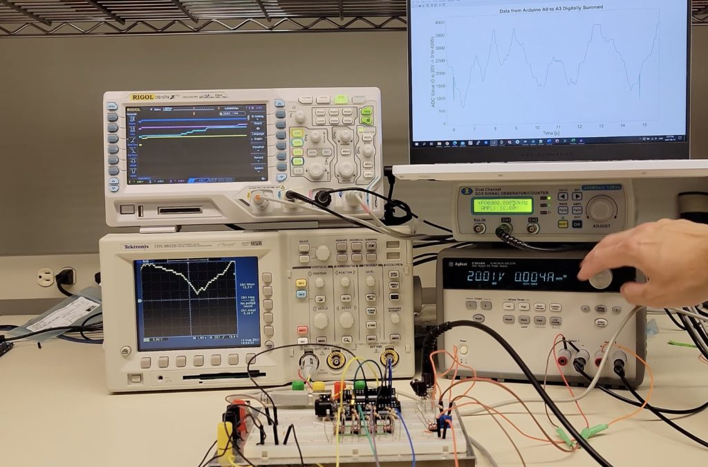 measuring 20v signals on an arduino uno with a quantizer hyperedge embed