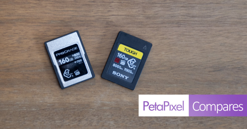 prograde versus sony cfexpress type a cards is there a difference hyperedge embed