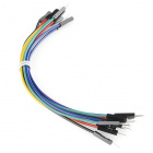 """Jumper Wires Premium 6"""" M/M - 20 AWG (10 Pack)"""