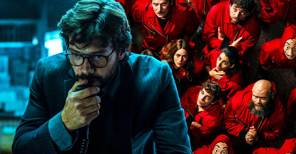 Money heist season 5 professor missing