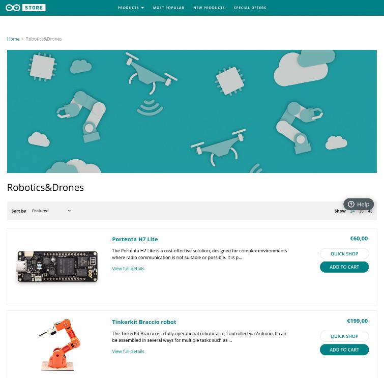 Arduino Store Robotics