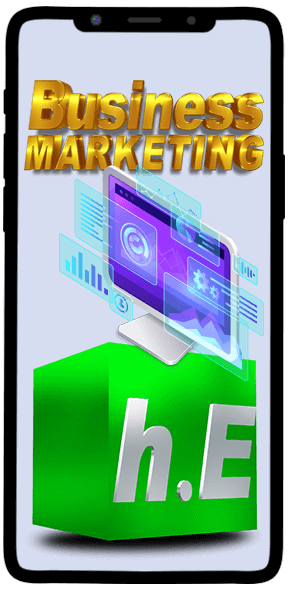 Business marketing Hyper Effects Mobile