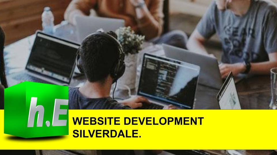 WEBSITE DEVELOPMENT SILVERDALE.