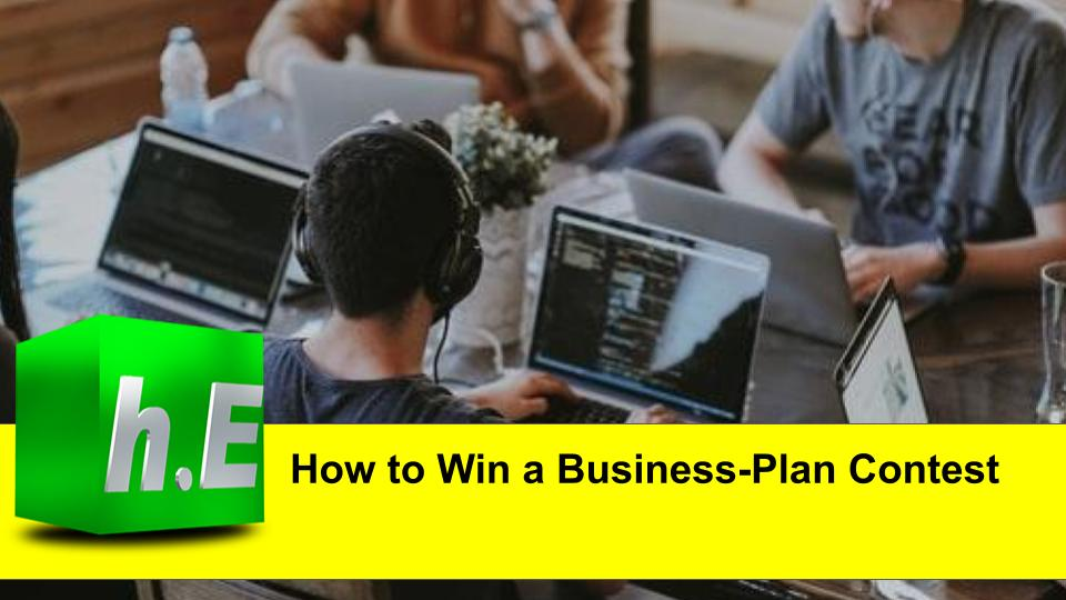 How to Win a Business-Plan Contest