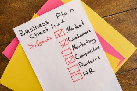 Business-Plan Checklist
