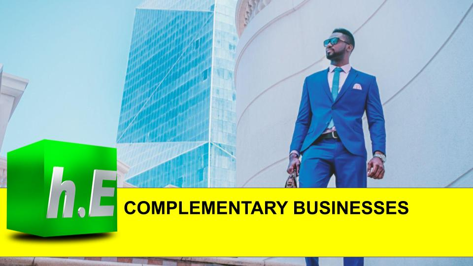COMPLEMENTARY BUSINESSES