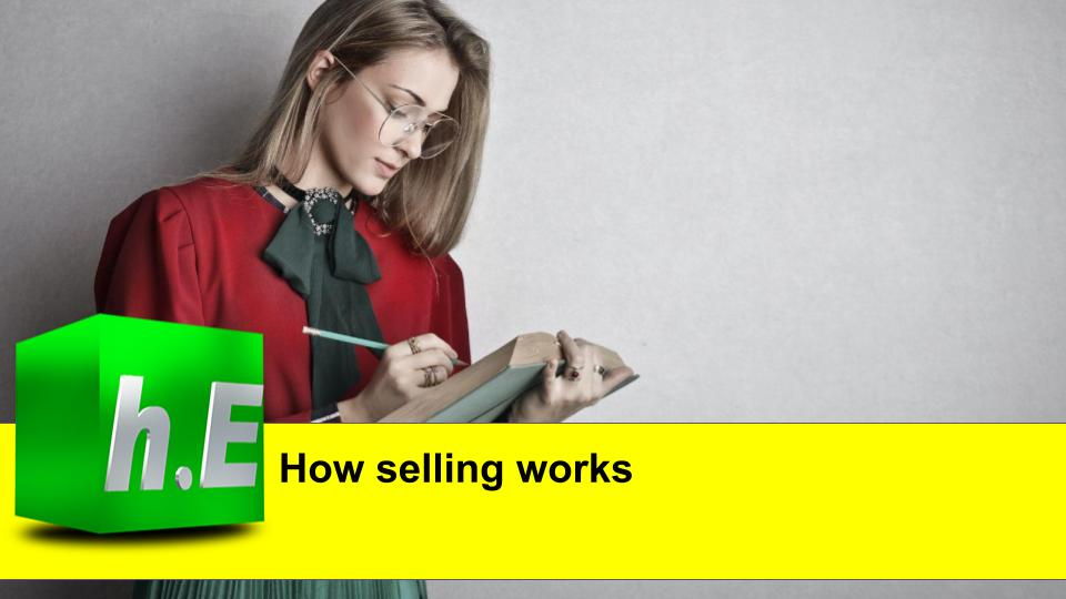 How selling works