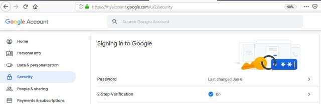 2-Step Authentication Enabled