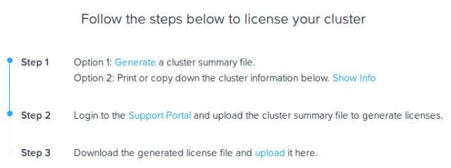 Nutanix License Installation Steps
