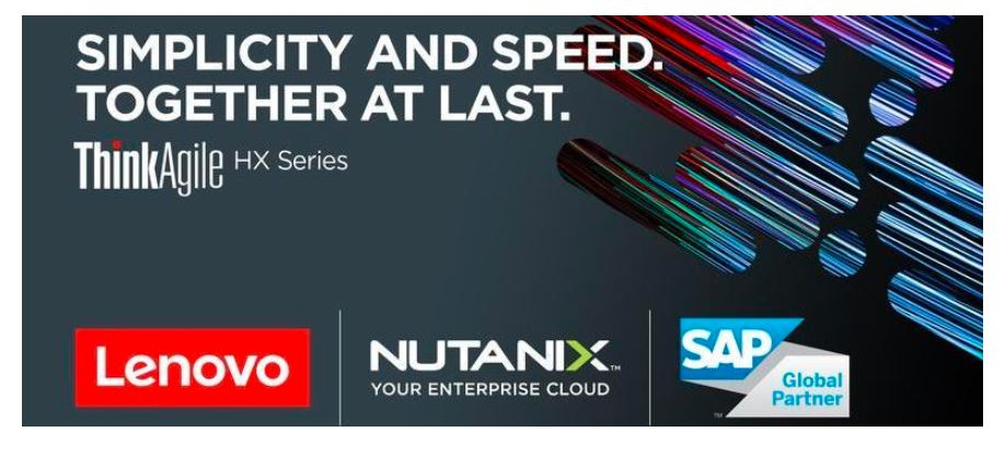 Lenovo ThinkAgile HX Series with Nutanix