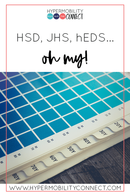 HSD, JHS, hEDS... oh my!   Hypermobility Connect