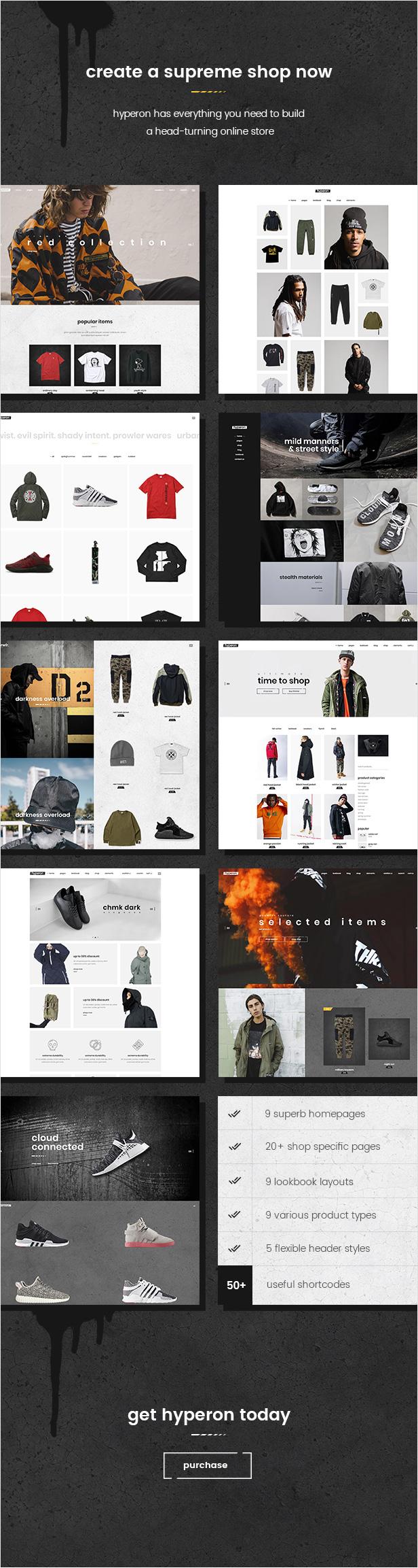 Hyperon - Clothing WooCommerce Theme - 1