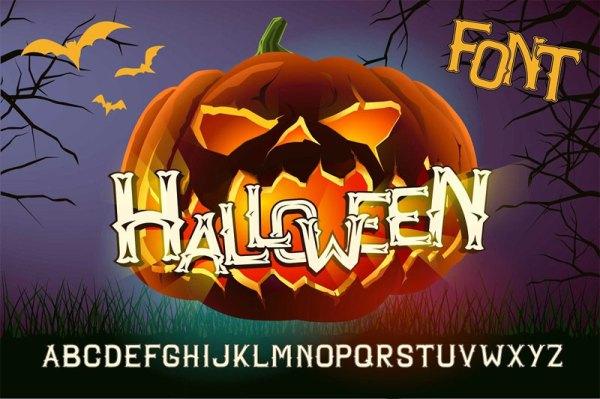 free halloween schriftarten # 44