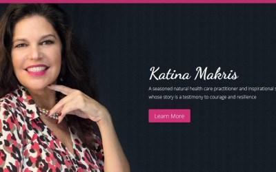 The Katina Makris Mobile Friendly Website Design
